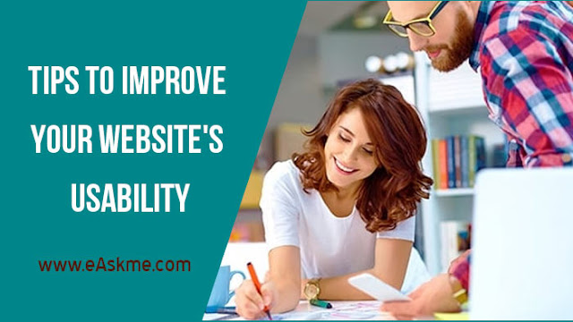 Tips to Improve your Website's Usability: eAskme