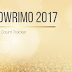 NaNoWriMo 2017 Word Count Tracker
