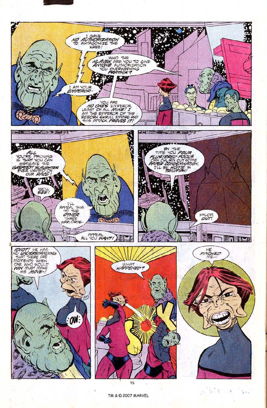 Read online Silver Surfer (1987) comic -  Issue #6 - 22