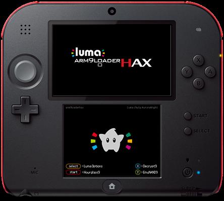 luma3ds_yyoosskのメモ:3dsスプラッシュスクリーンをカスタムする方法