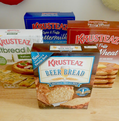 3 Cheese Italian Flatbread + Krusteaz Giveaway...delicious, easy and tasty appetizer! (sweetandsavoryfood.com)