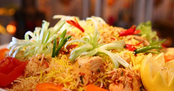 طريقة عمل برياني الدجاج البسيط من مطبخ منال العالم