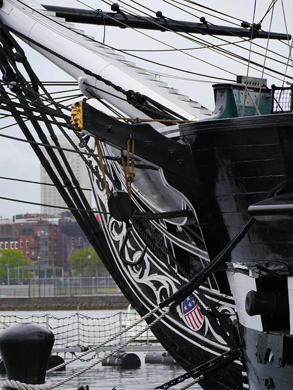 USS Constitution, Charlestown Navy Yard, Boston MA