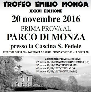 CLASSIFICA 1a Tappa Circuito Monga Monza 2016