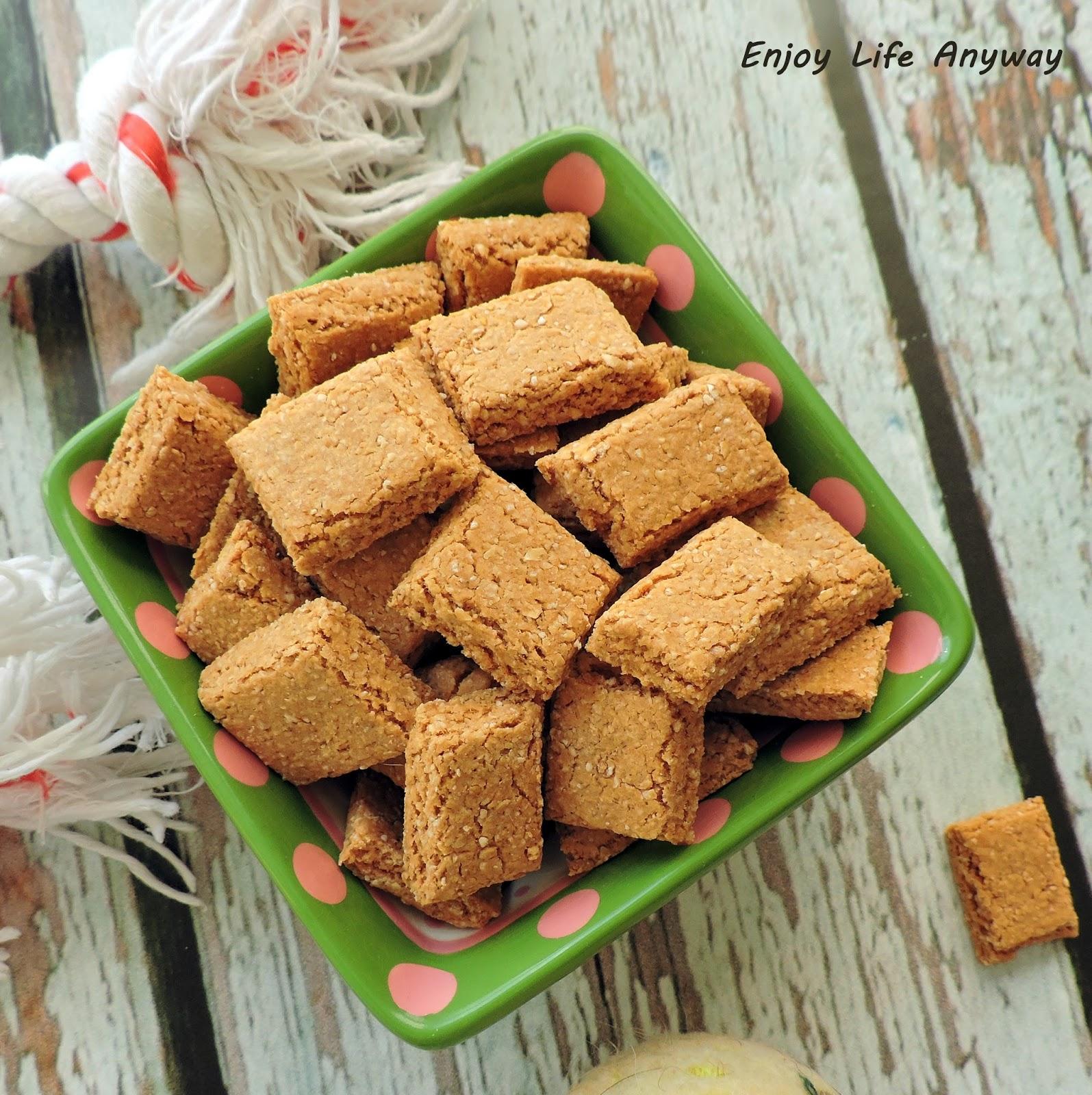 Enjoy Life Anyway Homemade Oatmeal Tuna Dog Treat Recipe