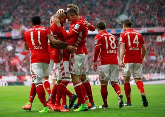 ultigamerz: PES 2017 FC Bayern Munchen Goal Song (Goaltune)