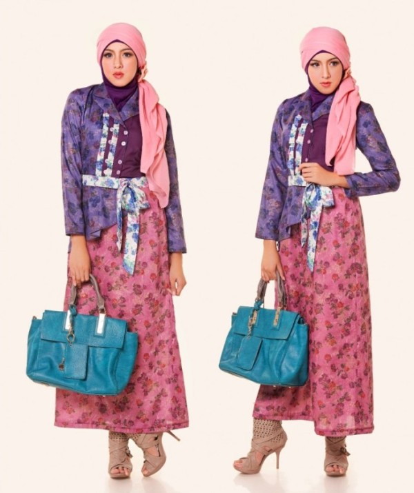 Jilbab Untuk Baju Batik: Model Baju Batik Untuk Kerja Terbaru Update 2016