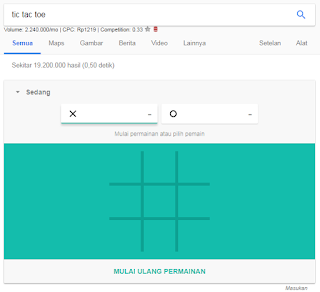 permainan di google