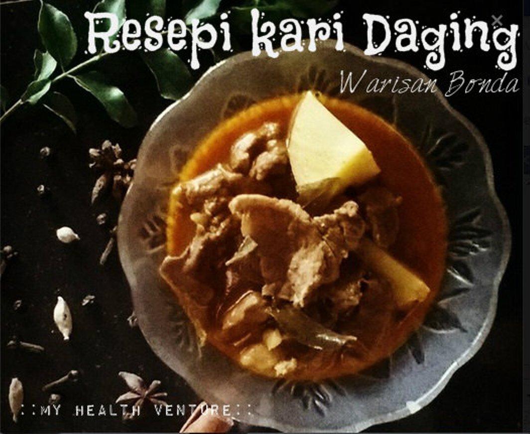 resipi kari daging  resep   membuat kari daging kambing  lezat semoga Resepi Roti Rice Cooker Enak dan Mudah