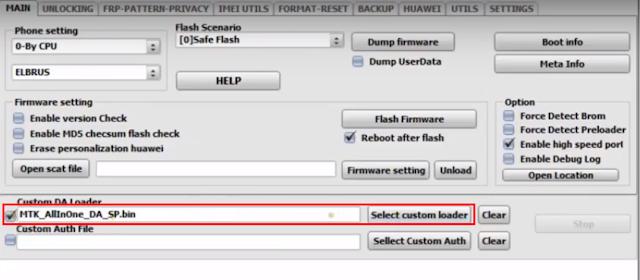 ملفات Download Agent -DA لهواتف INFINIX المحمية Secure Boot