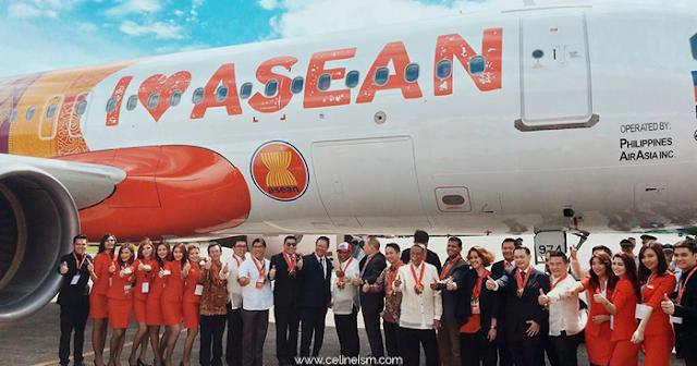 airasia i love asean aircraft