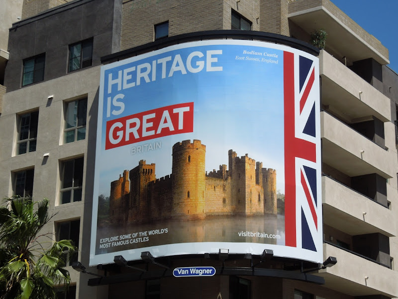 Heritage Great Britain billboard