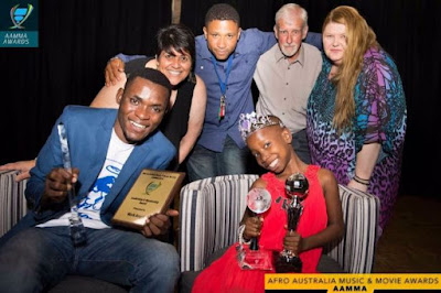 LITTLE EMMANUELLA CROWNED BY AUSTRALIAN GOVERNMENT AS PRINCESS OF COMEDY (LOVELY PHOTOS)