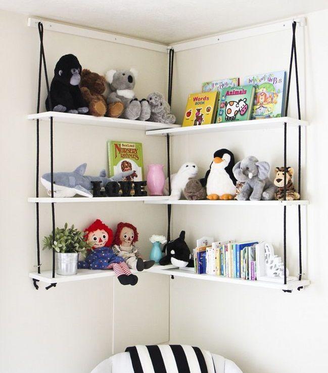 Marzua diy estanter a de madera y cuerdas - Hacer estanteria casera ...