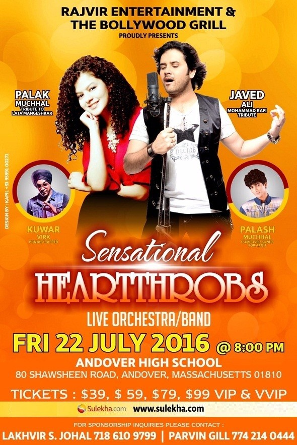 Javed Ali Concert 2016 in Boston