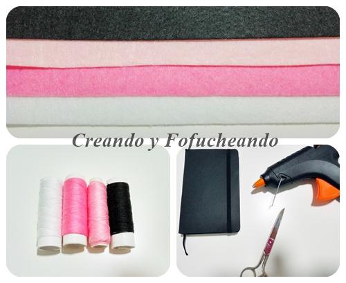 materiales-flamenco-paso-a-paso-en-fieltro-decora-tu-libreta-creandoyfofucheando