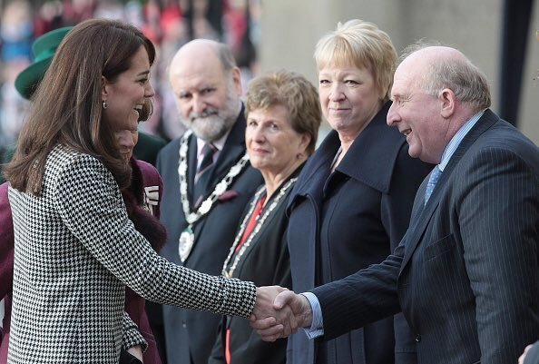 Catherine, Duchess of Cambridge visits the Centre for Addiction Treatment Studies (CATS) in Warminster
