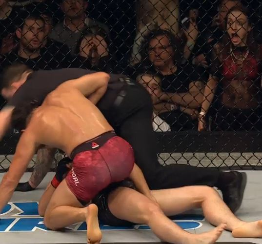 Jorge Masvidal knockout girl