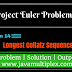 Project Euler | Problem 14 | Longest Collatz Sequence