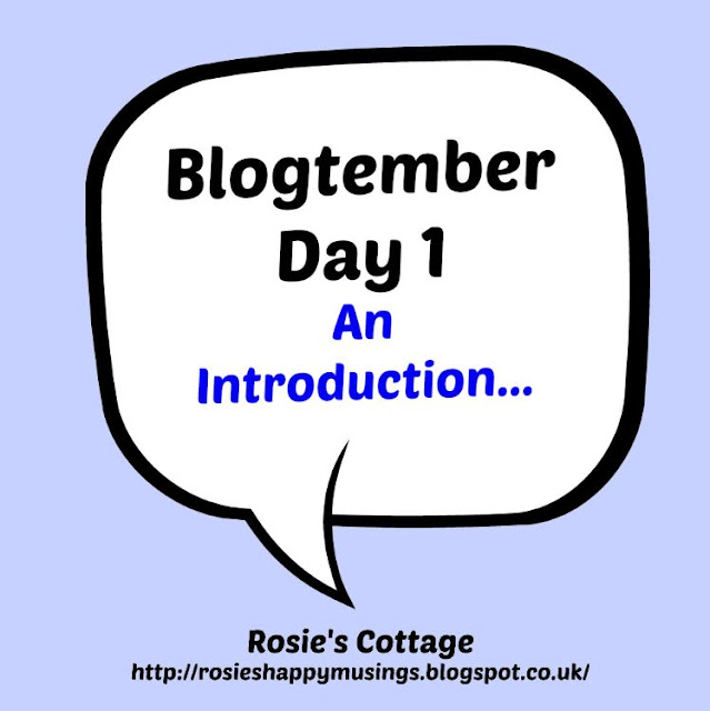 Blogtember Day One
