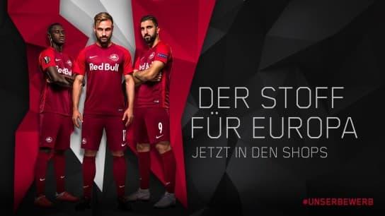 レッドブル・ザルツブルク 2018-19 ユニフォーム-ヨーロッパリーグ