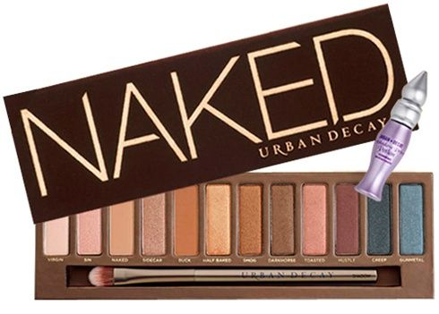 Naked Flushed Paleta de maquillaje Rubor + Iluminador