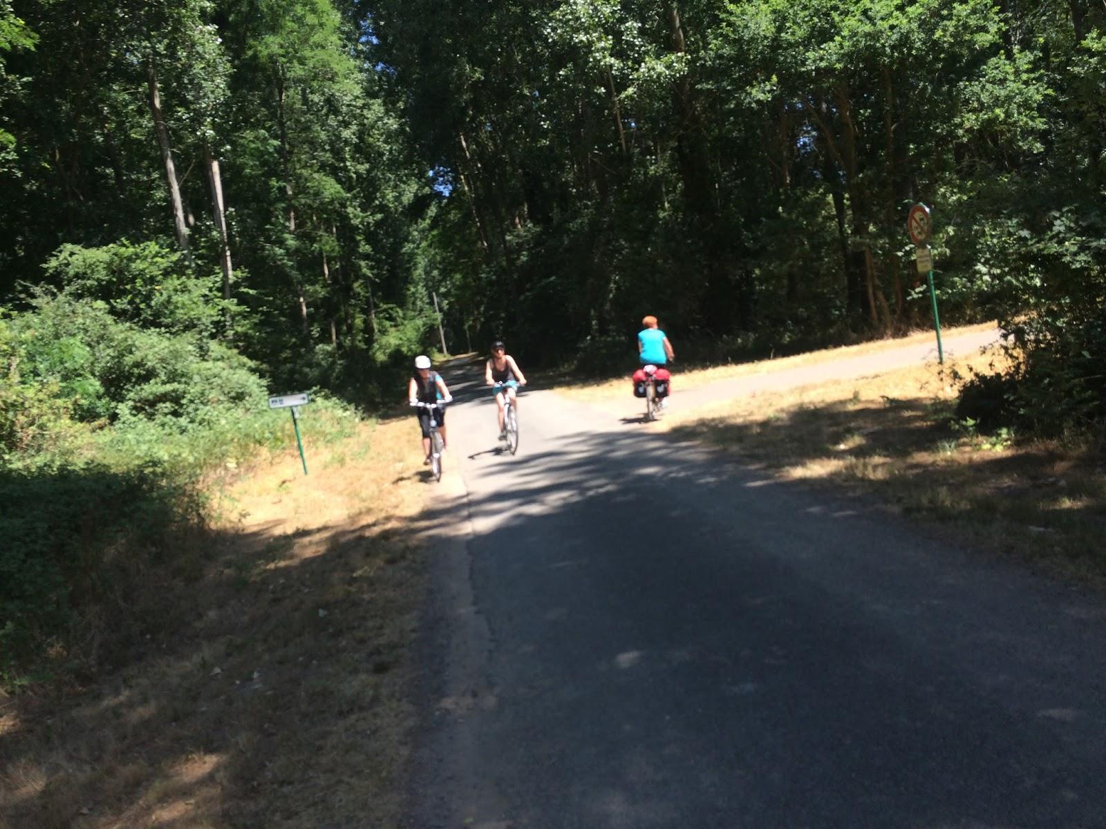 trasa rowerowa nad Loarą