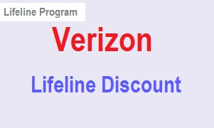 Verizon Lifeline discount