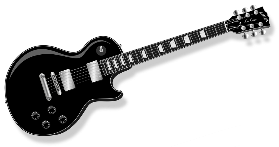 Rock Gitar Vektör