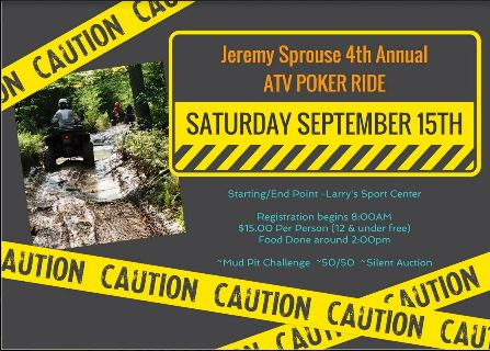 9-15 Jeremy Sprouse ATV Poker Ride