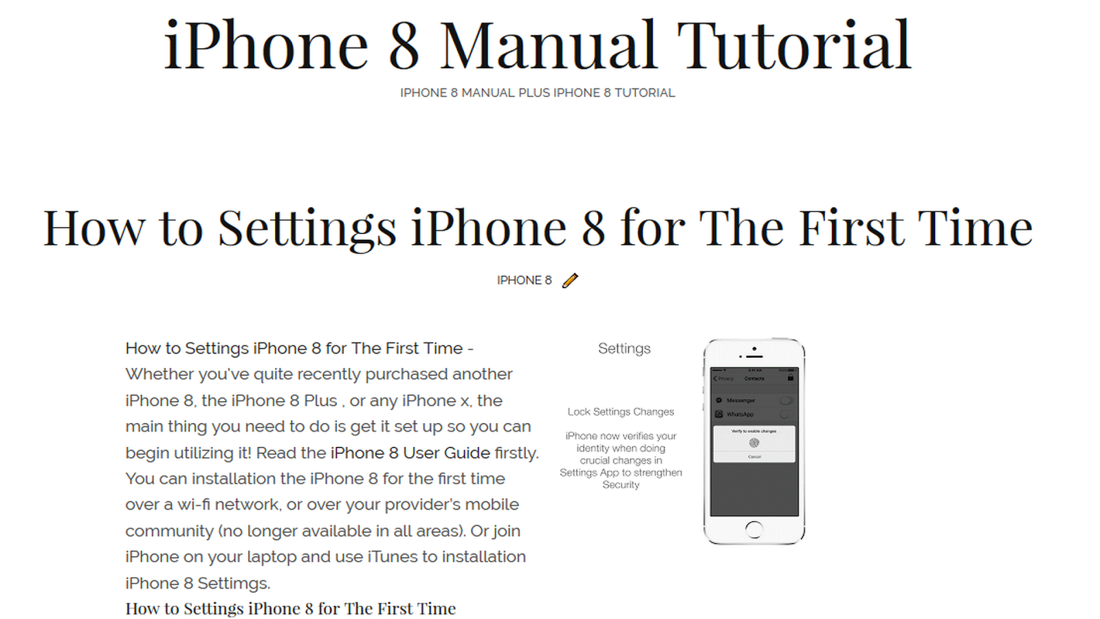 apple iphone 4 user manual