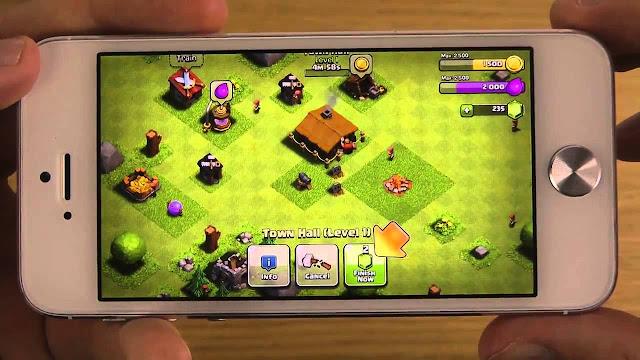 تحميل لعبة كلاش اوف كلانس للايفون والايباد Download Clash of Clans Iphone, ISO