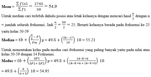 Cara Menghitung Statistik
