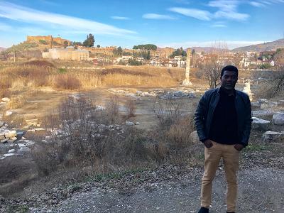 Reno Omokri in the Ancient Biblical City of Ephesus 4