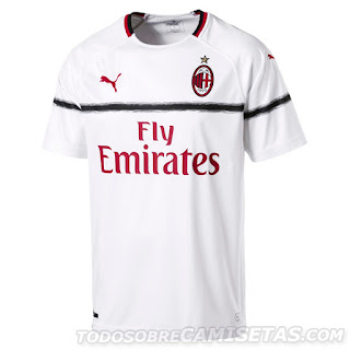 AC Milan PUMA 2018-19 Home Away Kit