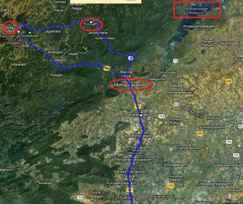 Coimbatore Attractions: Travel Blog.....: Coimbatore-Ooty