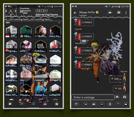 Download BBM Mod Naruto Shippuden v3.2.3.11 Apk