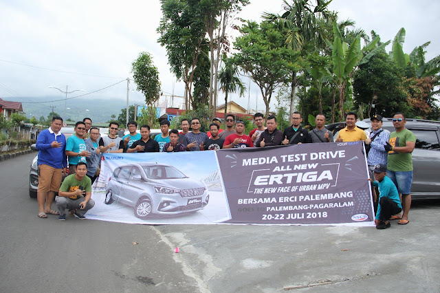 Media Test Drive All new Ertiga