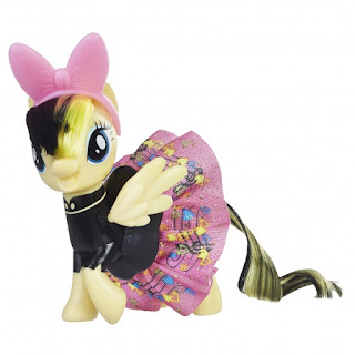 My Little Pony the Movie Songbird Serenade Sparkling and Spinning Skirts Brushable