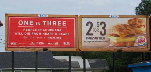 Funny Unfortunate Ad Photo Heart Disease McDonalds