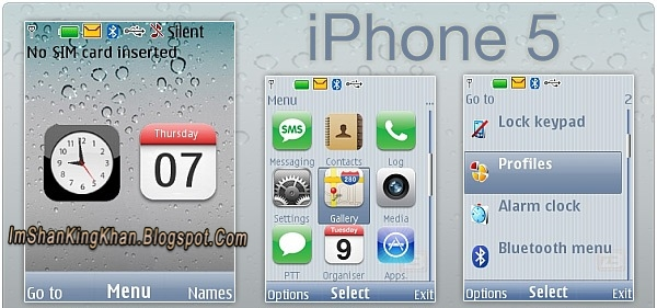 578KB Apple/iPhone 5 Theme For Nokia X2 Free Download Here