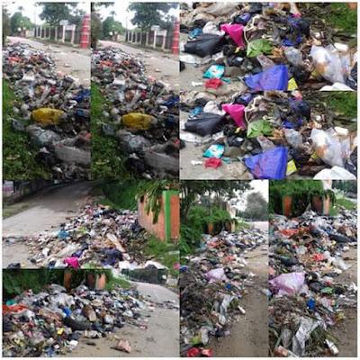 Sampah Kota Sungai Penuh yang Menumpuk Dibuang di RKE, Warga Protes!