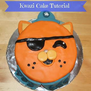 Kwazi cake tutorial