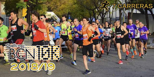 ChallengeBCN10K 2018/19 - 7 carreras