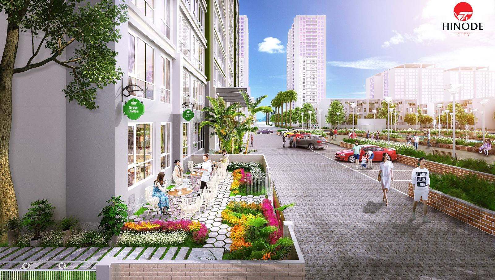 Kết quả hình ảnh cho dự án hinode city