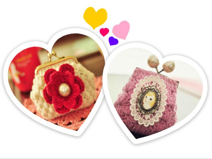 2 Monederos de Crochet muy Creativos