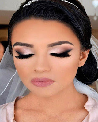 Makeup for elegant and easy wedding