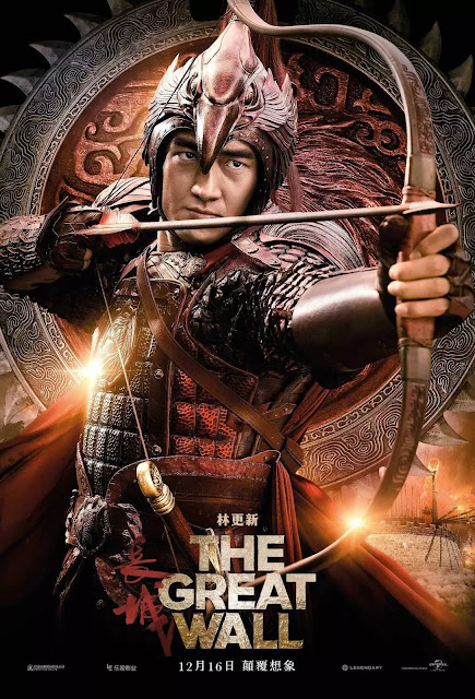 Lin Gengxin in The Great Wall