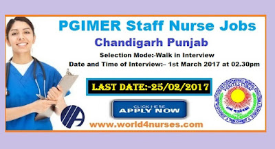 Selection Mode:-Walk in Interview  Date and Time of Interview:– 1st March 2017 at 02.30pm