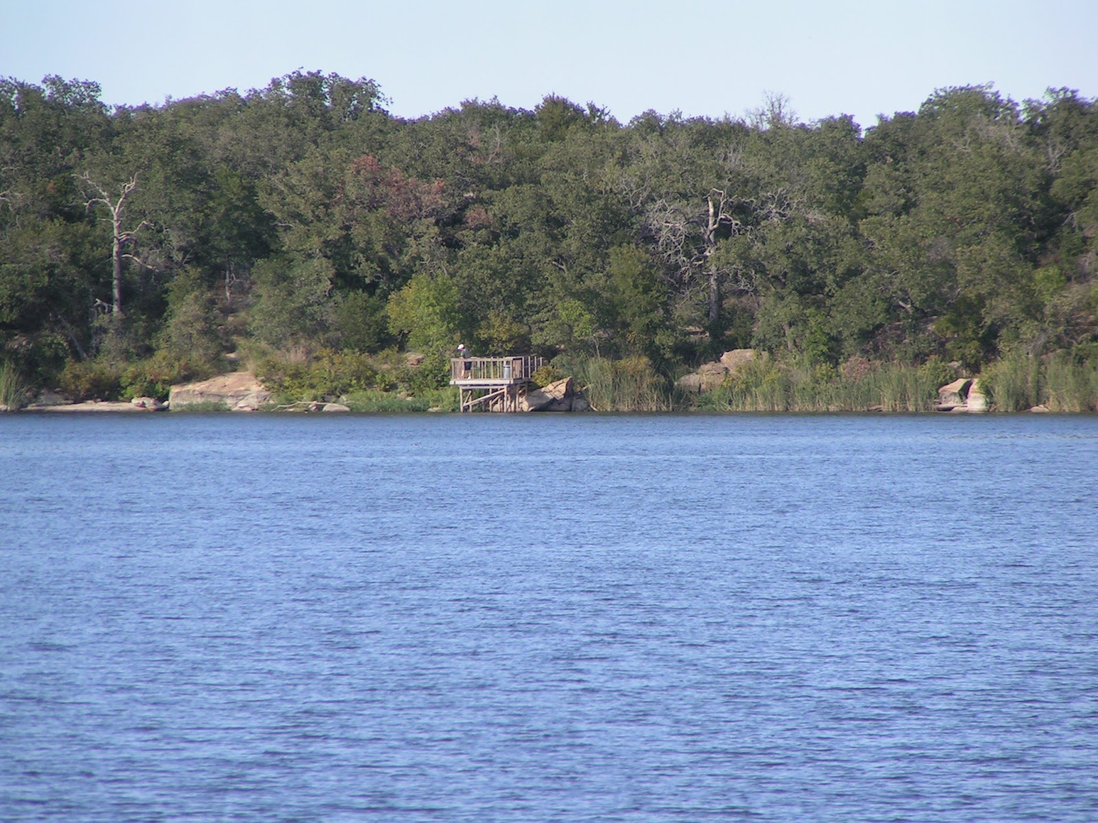 View from the Passenger Window: Lake Mineral Wells State Park
